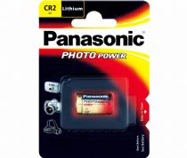 CR-2 Pila de litio Panasonic 3V, CR2, KCR2, CR17355